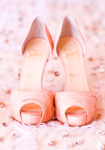 Much like the spaces below, these soft pink Christian Louboutin heels are the perfect combination of femininity, sophistication, and elegance.