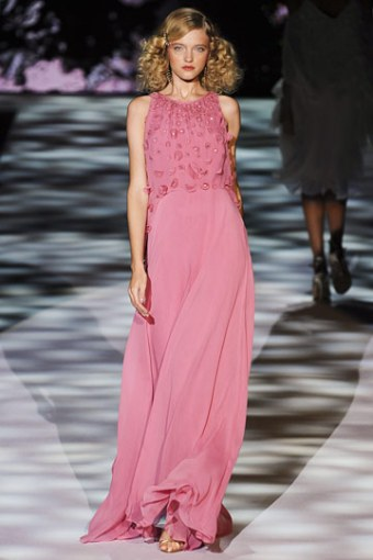 Badgley Mischka, Spring 2011.